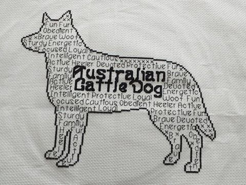 Australian Cattle Dog In Words