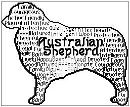 Australian Shepherd In Words