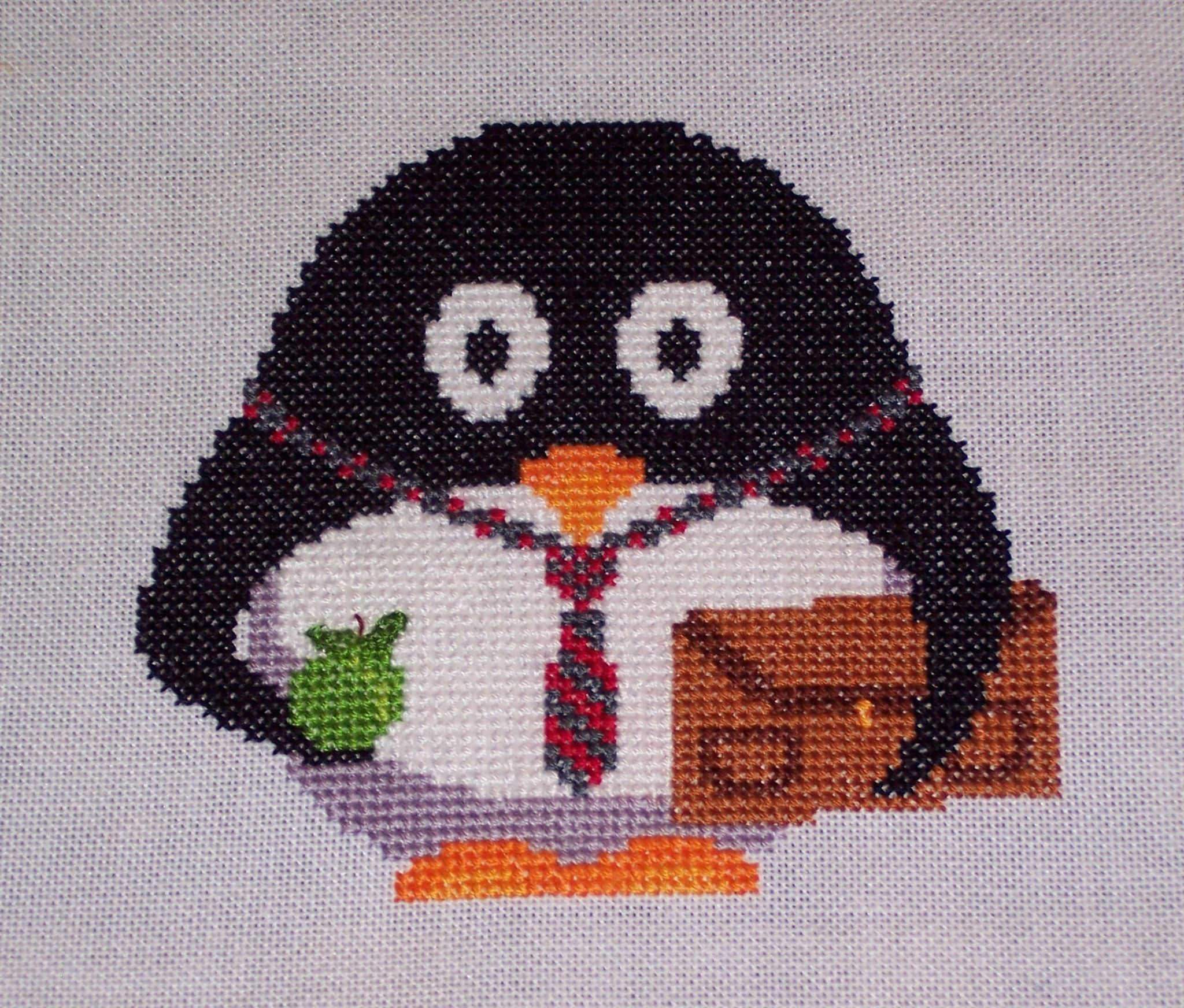 Back to School Presley Penguin
