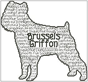 Brussels Griffon In Words