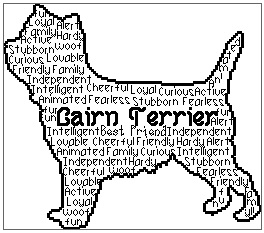 Cairn Terrier In Words