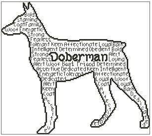 Doberman In Words