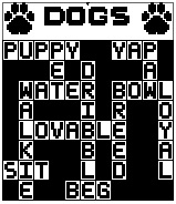 Dogs Crossword