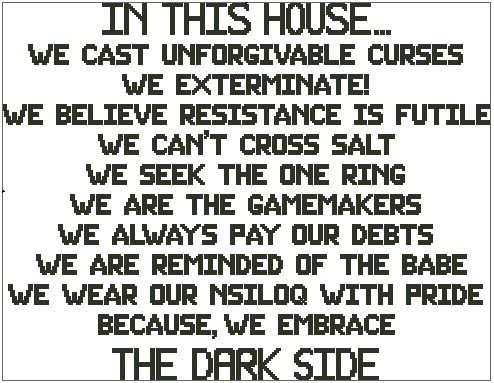In This House - The Dark Side