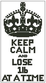 Keep Calm and Lose 1lb