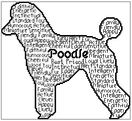 Poodle In Words