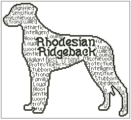Rhodesian Ridgeback In Words