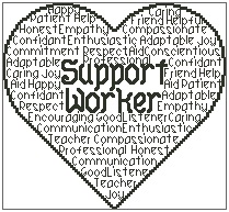 Support Worker In Words
