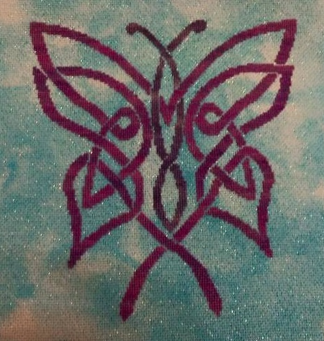 Celtic Butterfly Stitching