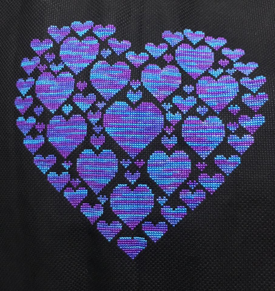 Heart Of Hearts Stitching