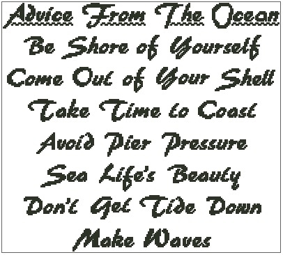 Advice from the Ocean (no background)