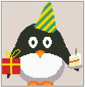 Birthday Presley Penguin