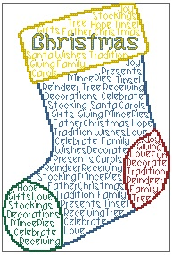 Christmas Stocking In Words