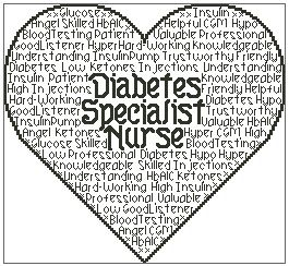 Diabetes Specialist Nurse In Words