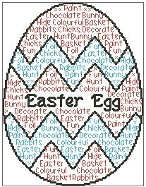 Easter Egg In Words