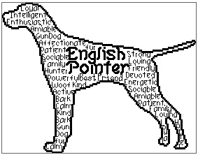 English Pointer In Words