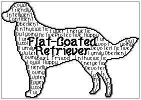 Flat Coated Retriever In Words