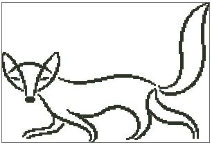 Fox Outline