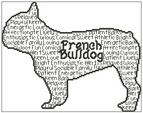 French Bulldog In Words