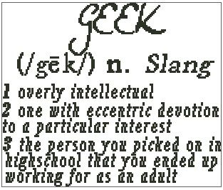 Geek Defintion