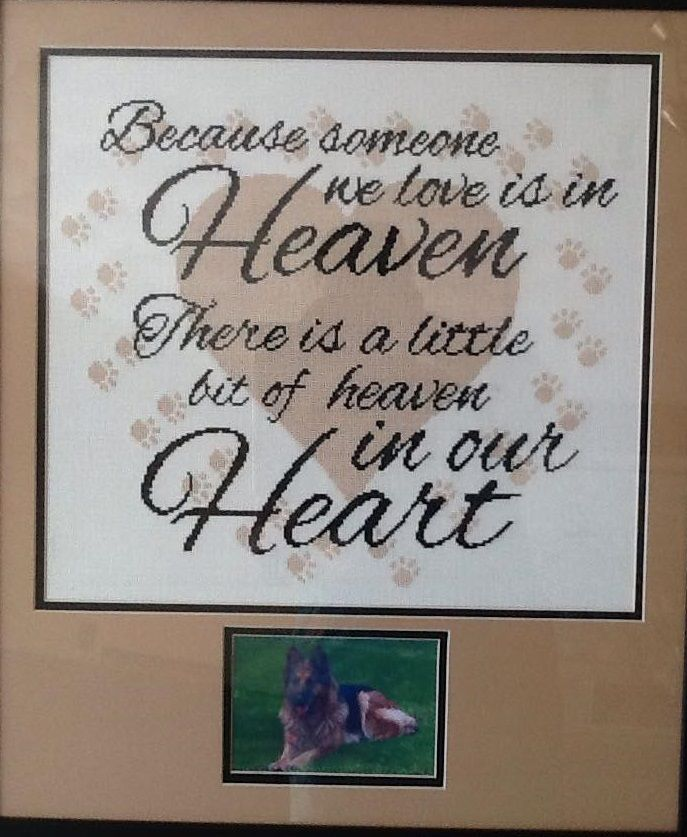 Heaven in our Heart - Paw Prints