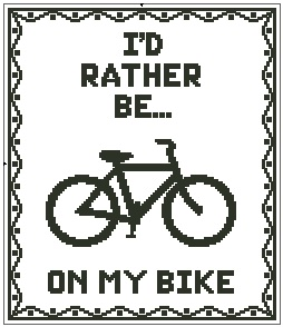 I'd Rather Be On My Bike