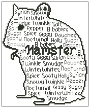 In Words - Hamster Personalised