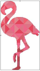 Kaleidoscope Flamingo