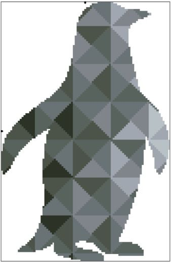 Kaleidoscope Penguin