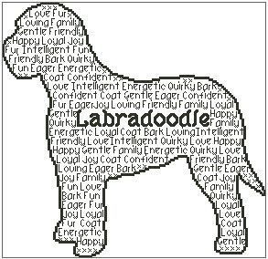 Labradoodle In Words
