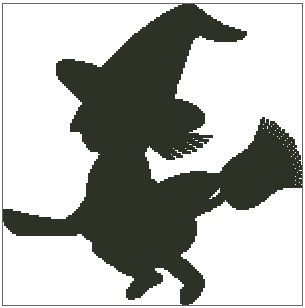 Little Witch Silhouette