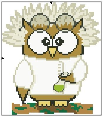 Mad Scientist Ollie Owl