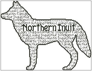 Northern Inuit In Words