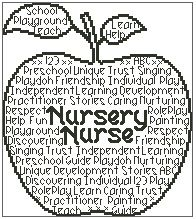 Nursery Nurse In Words
