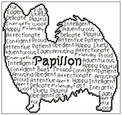 Papillon In Words