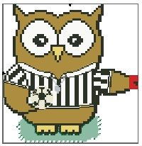 Referee Ollie Owl