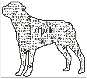 Rottweiler In Words