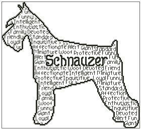 Schnauzer In Words