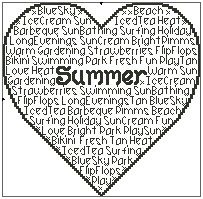 Seasons - Summer In Words