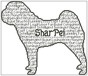 Shar Pei In Words