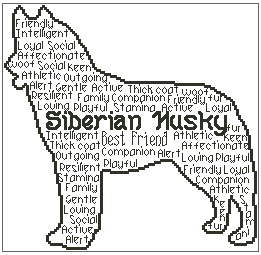 Siberian Husky In Words