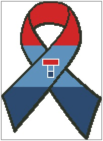 Teenage Cancer Trust Ribbon