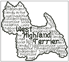 West Highland Terrier In Words