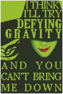 Wicked, Defying Gravity