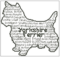 Yorkshire Terrier In Words